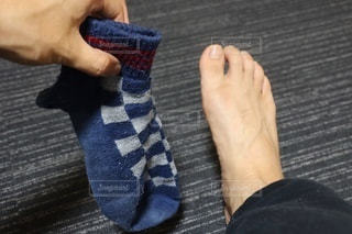 靴下と足の写真・画像素材[3357523]