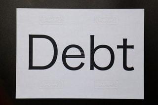 借金の写真・画像素材[3399766]