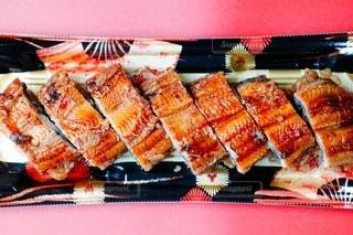 うなぎの寿司の写真・画像素材[3409866]