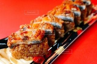 うなぎのお寿司の写真・画像素材[3409865]