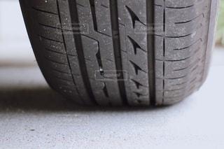 自動車タイヤの写真・画像素材[3413606]