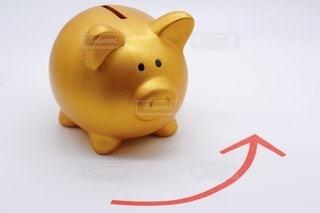 貯金増加のイメージの写真・画像素材[3423659]