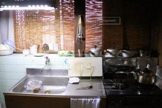 古いキッチンの写真・画像素材[3471852]