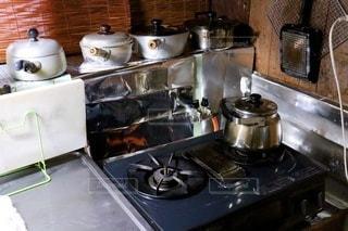 古いキッチンの写真・画像素材[3471858]