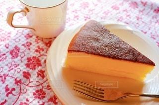 スフレチーズケーキの写真・画像素材[3509989]