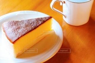 日本風チーズケーキの写真・画像素材[3509990]