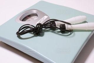 体重計となわとびの写真・画像素材[3522386]