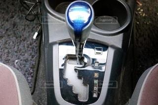 車のシフトレバーの写真・画像素材[3537076]