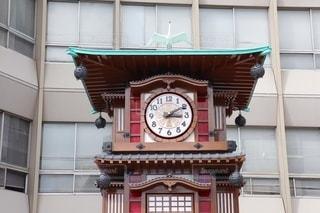 坊ちゃんカラクリ時計の写真・画像素材[3554290]