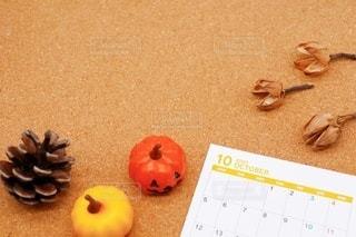 2020年10月のカレンダーの写真・画像素材[3603502]