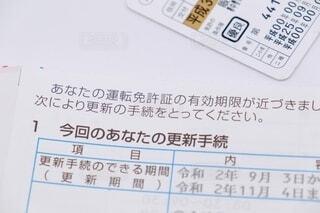 運転免許の更新の写真・画像素材[3618246]