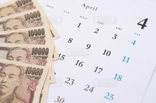 給料日 四月の写真・画像素材[3653366]