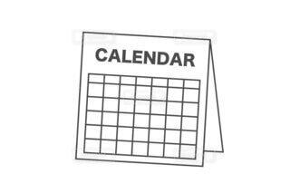 カレンダーの写真・画像素材[3770137]