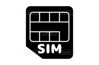 SIMカードのアイコン素材の写真・画像素材[3859752]