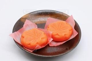 上生菓子 紅葉の写真・画像素材[3932414]