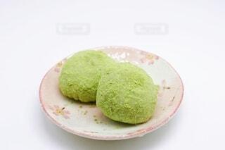 鶯餅 早春の和菓子の写真・画像素材[4109266]