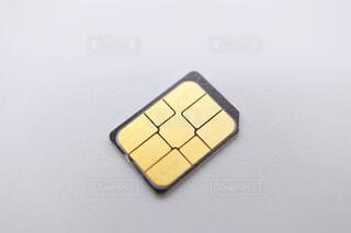 nano-simカードの写真・画像素材[4252279]