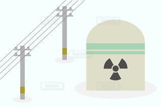 原子力発電所 ベクターイラストの写真・画像素材[4340564]