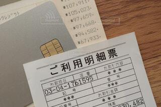 ATMの利用明細の写真・画像素材[4358661]