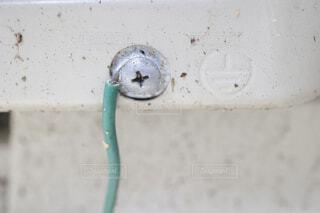 屋外器具に施されたD種接地工事の写真・画像素材[4519860]