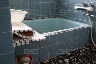 古いお風呂の写真・画像素材[4839897]