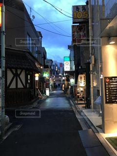上野の裏街の写真・画像素材[1121823]