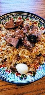 カザフスタン料理のカザフスタンプロフの写真・画像素材[2890061]
