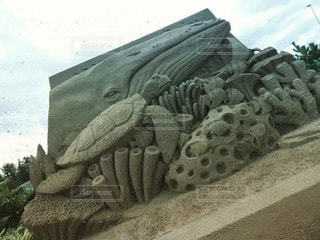 砂像展の写真・画像素材[2852224]