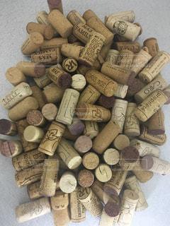 ワインのコルクの写真・画像素材[301380]