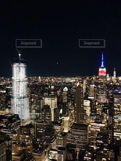 トップオブザロックより夜景を楽しむの写真・画像素材[2172876]