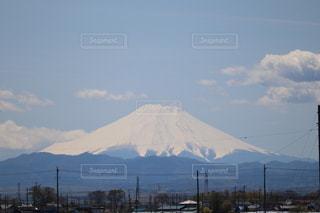 富士山と青空の写真・画像素材[3119578]