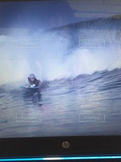 バリの波の写真・画像素材[2958269]