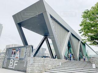 大きな建物の写真・画像素材[2860814]