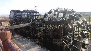 三連水車稼働の写真・画像素材[2862668]