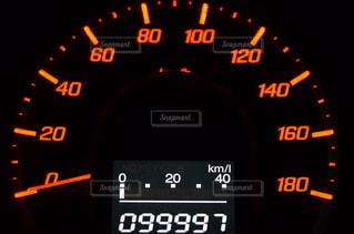99997kmの写真・画像素材[2930987]