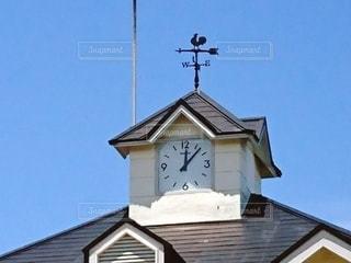 街の時計台の写真・画像素材[3225172]