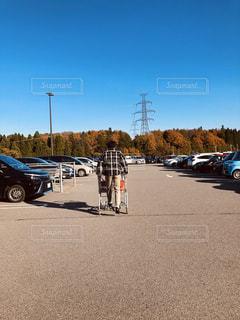 大型スーパーでワクワクお買い物の写真・画像素材[2953016]