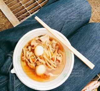 文化祭の芋煮の写真・画像素材[2877929]