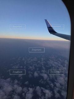 昼と夜の境界線の写真・画像素材[2876730]