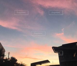 夕日の写真・画像素材[2875006]