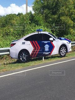 バリ島警察、ウケるの写真・画像素材[2877895]