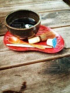 秋のコーヒーの写真・画像素材[3789903]