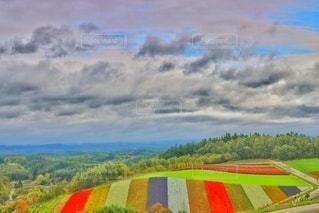 四季彩の丘の写真・画像素材[2882005]