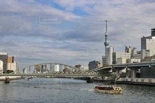隅田川と東京スカイツリーの写真・画像素材[2898876]