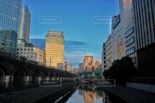 万世橋からの眺めの写真・画像素材[3840825]