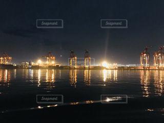 工場夜景の写真・画像素材[1700894]