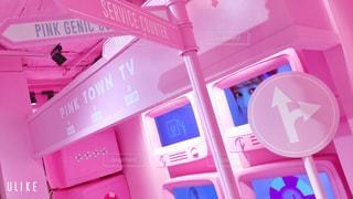 ピンクの箱の写真・画像素材[2884507]