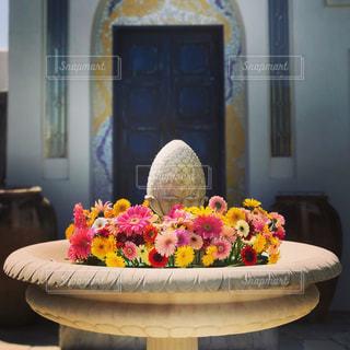 花の噴水の写真・画像素材[1669128]