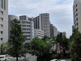 大阪豊中・千里中央の街並みの写真・画像素材[2887643]