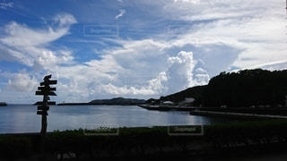 小笠原母島の港の写真・画像素材[2888103]